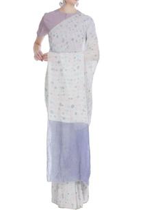 brush-spot-batik-work-handwoven-linen-sari