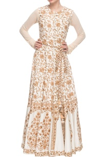 white-anarkali-with-embroidered-jacket