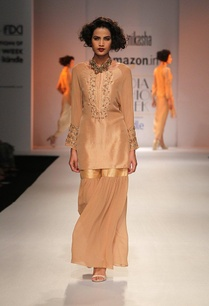beige-zardosi-embroidered-kurta-with-sharara