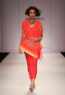 scarlett-red-floral-printed-kurta-with-skirt