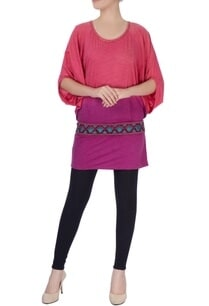 pink-top-with-thread-embroidered-belt