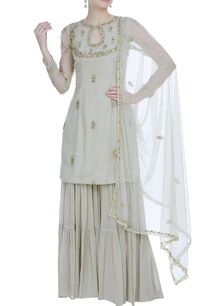 raw-silk-sequin-anarkali-set