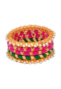 multi-colored-bangles-with-pearls