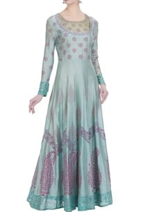 chanderi-silk-paisley-printed-anarkali