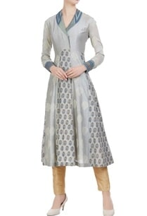 block-printed-chanderi-collar-style-anarkali