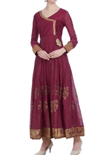chanderi-silk-block-printed-angrakha-anarkali