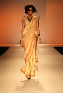 beige-embroidered-silk-sari-with-halter-top