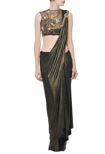 copper-zardosi-embellished-sari