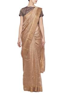 soft-hazel-linen-sari