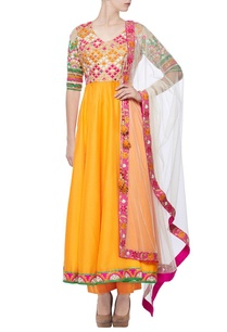 orange-raani-resham-embroidered-achkan-anarkali-set