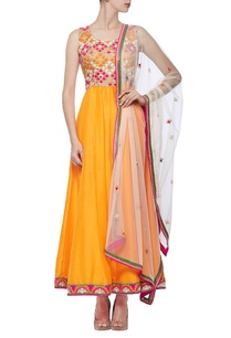 orange-ivory-resham-embroidered-anarkali-set