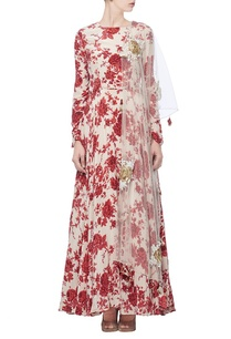 ivory-red-floral-printed-anarkali-with-dupatta
