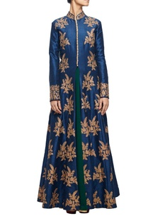 midnight-blue-embroidered-jacket-with-an-emerald-green-inner