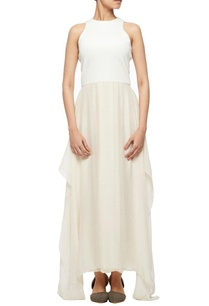 white-chiffon-silk-dress