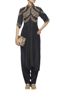 black-jaal-and-pearl-embroidered-dhoti-jumpsuit