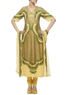 yellow-kurta-set-with-olive-green-embroidery