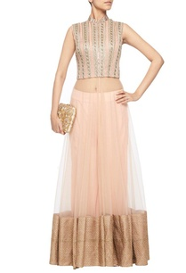 pale-pink-embroidered-high-low-jacket-with-matching-palazzos