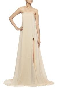 beige-strapless-gown
