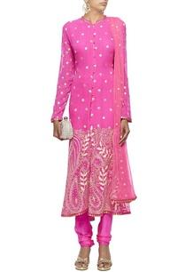 raani-pink-embroidered-kurta-set