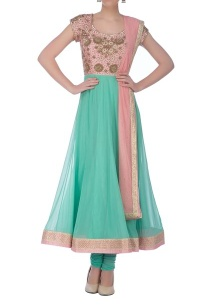 baby-pink-aqua-blue-embellished-yoke-anarkali-set