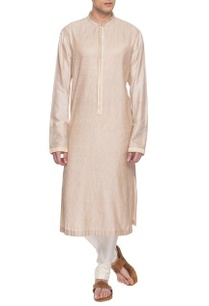 beige-embroidered-kurta-set-with-kasab-embroidery