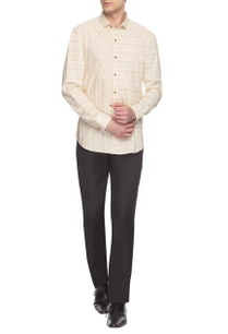 beige-printed-collar-shirt