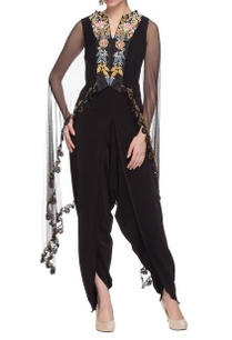 black-jumpsuit-with-embroidered-cape