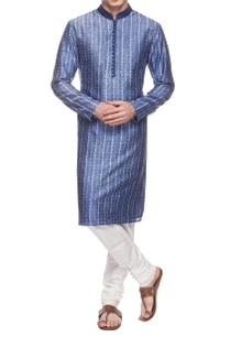 blue-white-printed-kurta-set