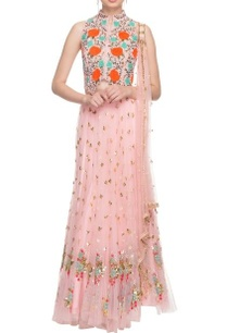 blush-pink-sequin-embellished-lehenga-set