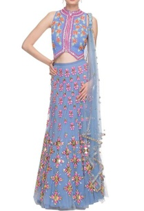cerulean-blue-embellished-lehenga-set-with-heart-detail
