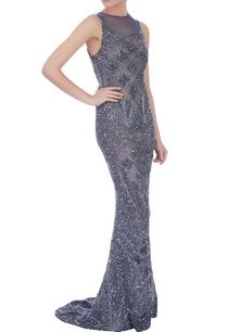 silver-black-stretchable-net-hand-embroidered-gown