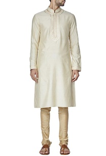 cream-embroidered-kurta-set