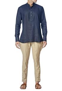 classic-half-down-button-shirt
