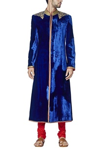 royal-blue-embroidered-sherwani-set