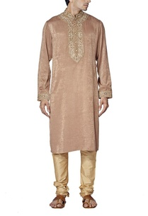 rose-gold-embroidered-kurta-set