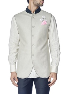 light-grey-cherry-blossom-nehru-jacket-with-shirt