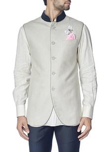 light-grey-cherry-blossom-nehru-jacket-with-shirt