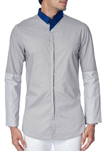 grey-shirt-with-navy-blue-contrast-collar