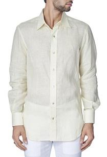 classic-beige-linen-shirt