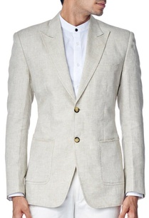 light-beige-linen-blazer