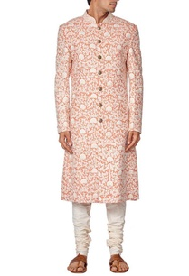 coral-embroidered-sherwani