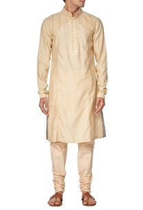 light-beige-embroidered-kurta-set