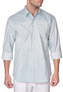 blue-cotton-printed-shirt-with-pleated-yoke