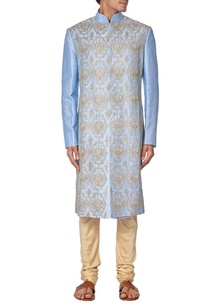 blue-silk-embroidered-sherwani