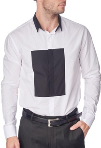 white-shirt-with-black-patch