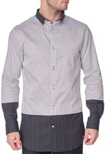 black-dotted-shirt-with-black-panels