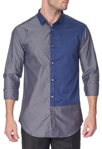 grey-shirt-with-navy-blue-patch