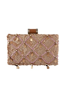 beige-clutch-with-sequin-work