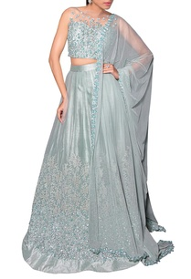 sea-blue-floral-sequin-embroidered-lehenga-set