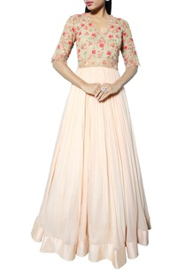 peach-anarkali-with-floral-embroidered-bodice
